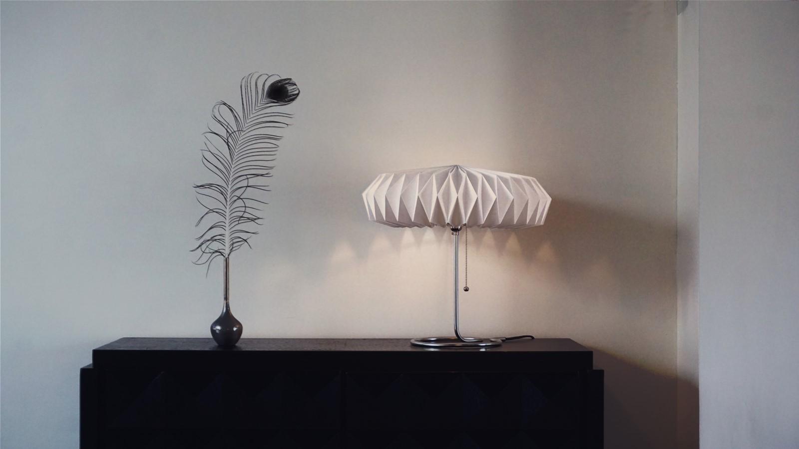 Lamp In Kast : Daden moire lamp